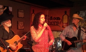 Jordin Sparks sang at Handlebar J's this same night