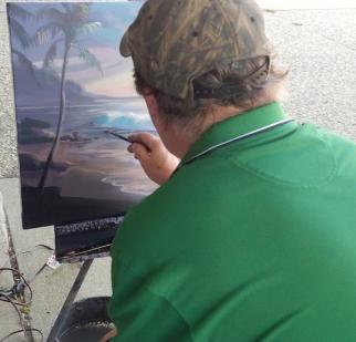 John Green painting sm